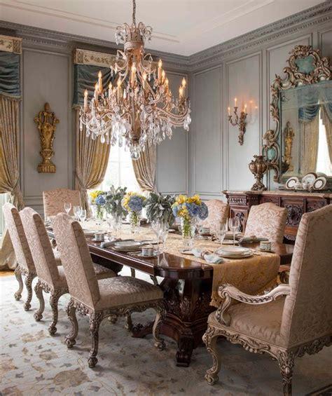 magical elegance victorian dining room  dallas