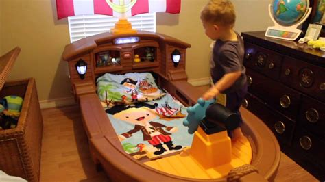 liam s tikes pirate ship bed