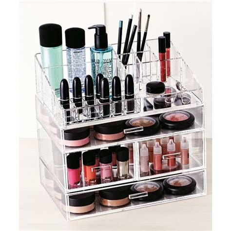 Bathroom Makeup Storage by Best 25 Clear Acrylic Makeup Organizer Ideas On