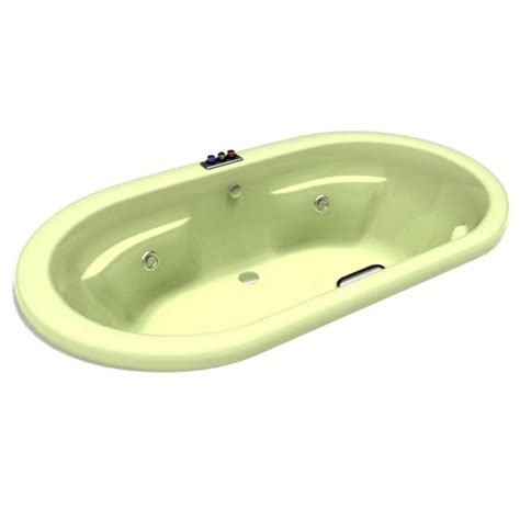 beige bathtub beige bathtub whirlpool 3d model cgtrader com