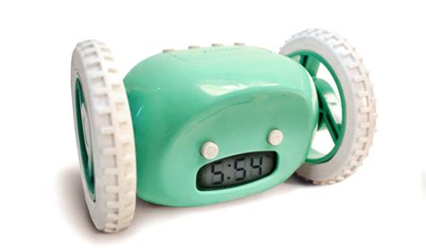 Clocky Alarm Clock Runs And Hides When You Dont Up by Gadgets Things Note Book