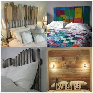recycled headboards home