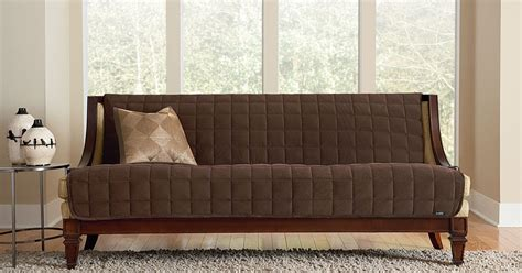 armless sofa cover sure fit slipcovers deluxe armless furniture covers