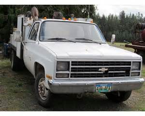1989 chevrolet 1 ton cheyenne flatbed truck for sale