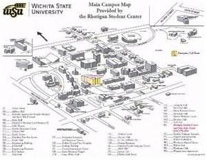Wichita State Campus Map by Wichita State University Campus Map Pdf