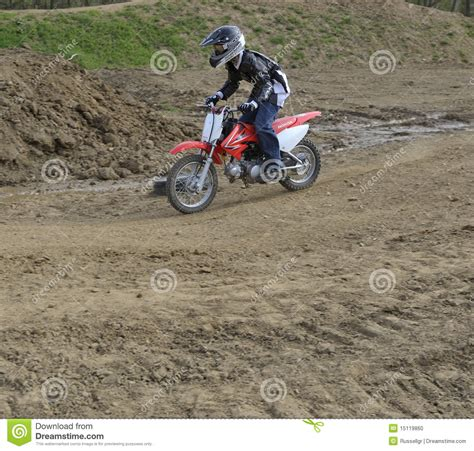 z racing motocross track motocross racer on a dirt track editorial image