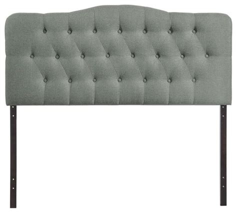 hillsdale tufted grey velvet headboard full queen modway annabel twin tufted panel headboard white