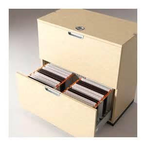 galant drawer unit with drop file storage birch veneer