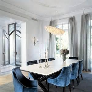 Blue Velvet Dining Chair » Home Design 2017