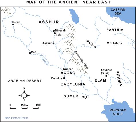 map of ancient near east map of mesopotamia near east bible history