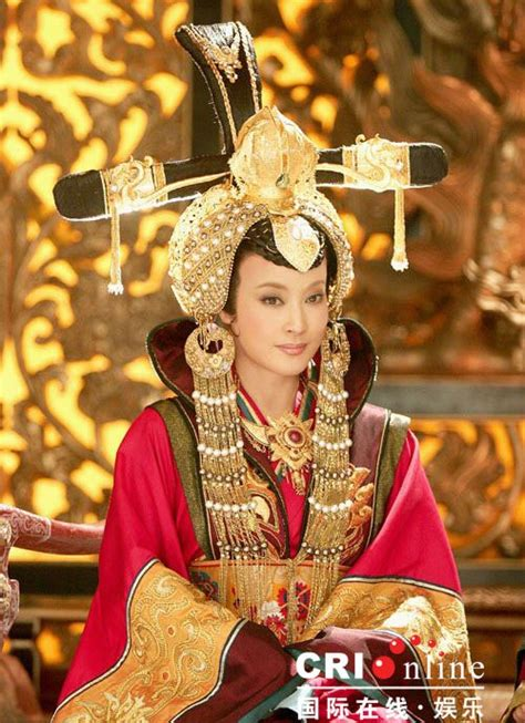 Film Empress China | the notorious empress wu zetian from a recent movie a