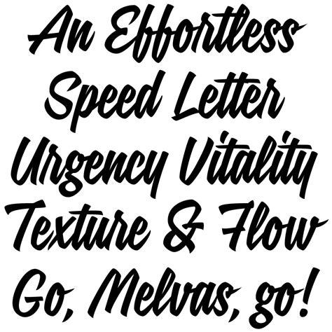 design font brush signalist brush lettering font lettering fonts
