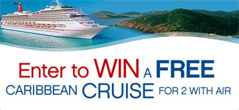 Win A Cruise Sweepstakes - signup to win with sweepstakes ca