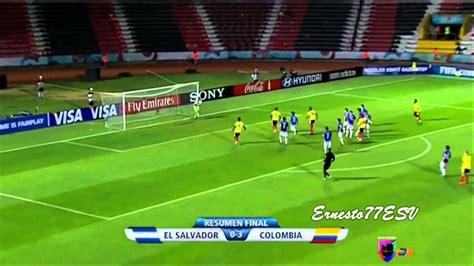 Resume New Zealand Argentine El Salvador 0 3 Colombia Resumen Tercer Partido