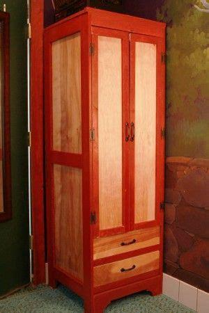 Tall Narrow Wardrobe for Tiny House   Do It Yourself Home