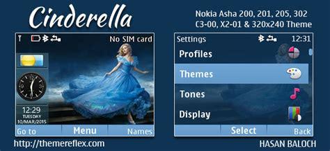 nokia asha 210 live themes cinderella live theme for nokia c3 00 x2 01 asha 200