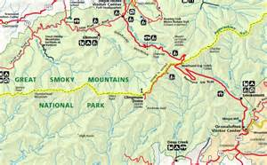 dome map clingmans dome map