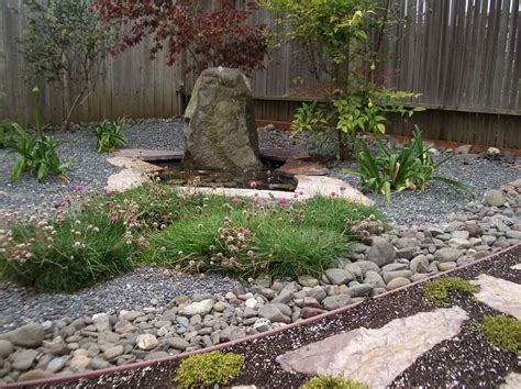 ideas gravel ideas for backyard landscaping with stone
