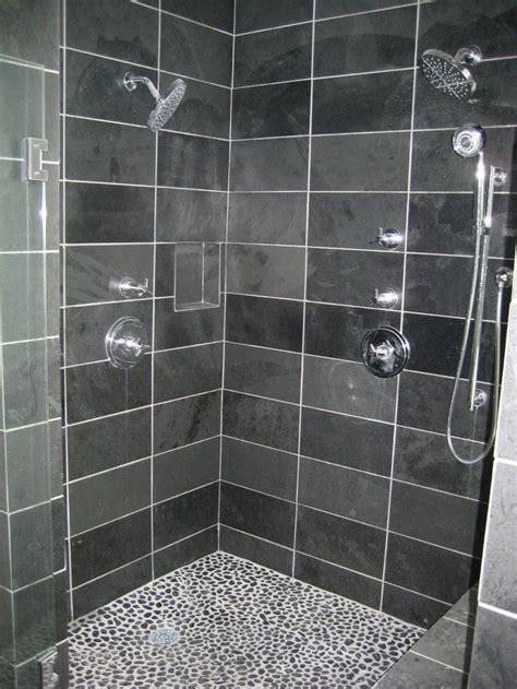 slate tile shower slate shower home