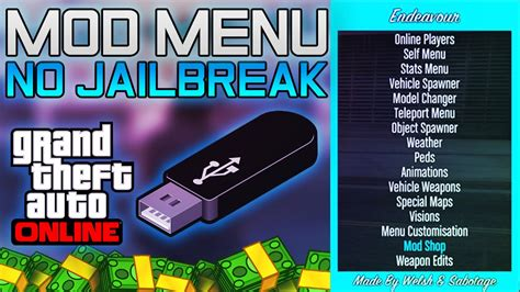 tutorial online de gta v gta 5 online install usb mod menu tutorial ps3 ofw no