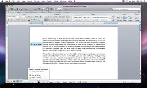 Office 2011 For Mac by Microsoft Office For Mac 2011 O Que Est 225 Para Vir