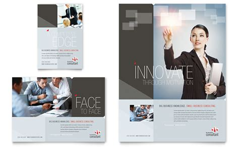 corporate business flyer ad template word publisher