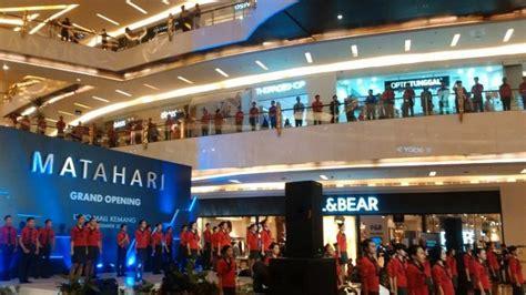 Sk Ii Di Matahari Mall gerai matahari mall di lippo mall kemang dirancang elegan