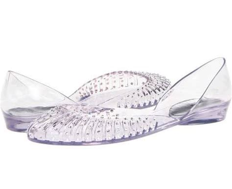 Clear Wedding Shoes by Wedding Shoes Of The Day Clear Flat Bridal Shoes