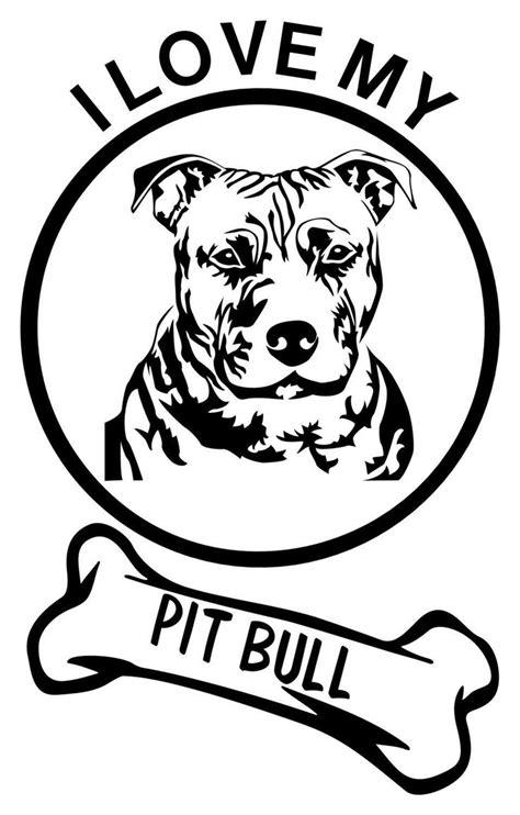 I LOVE MY PITTBULL!! #pitbull   Craft Ideas   Pitbulls
