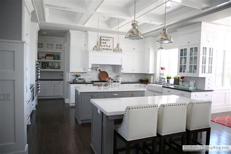 Coffered Ceiling In Kitchen by Open House Erin From Side Up 11 Magnolia
