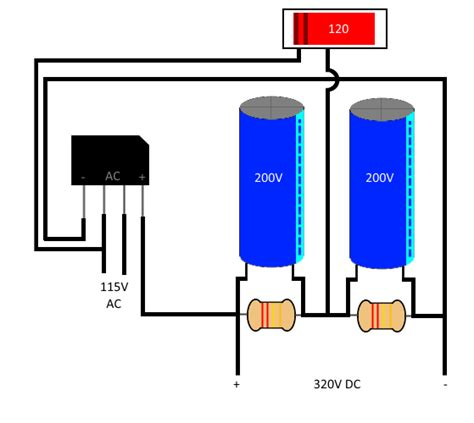 how capacitor works in power supply how a switchmode power supply works