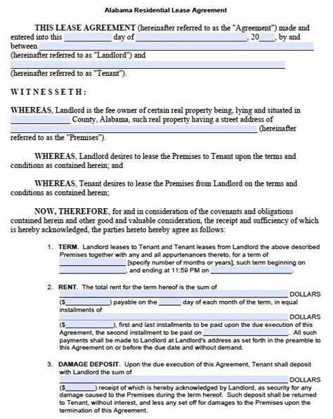 real estate lease template the world s catalog of ideas