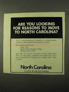 reasons to move to 1971 north carolina development ad reasons to move