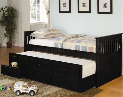 contemporary daybed with storage with daybed how to black finish contemporary daybed w trundle storage drawers