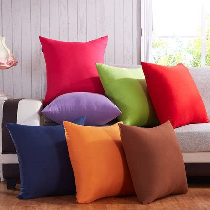 soft sofa cushions fashion simple solid color sofa cushions bed super soft