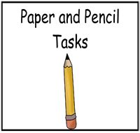 printable paper and pencil games paper and pencil tasks file folder games at file folder