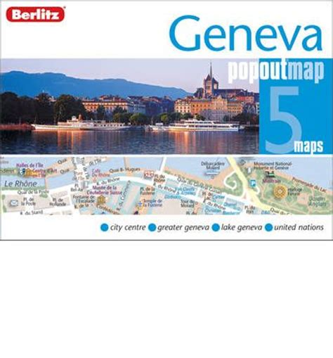 chicago popout map popout maps books geneva berlitz popout map 9789812687562