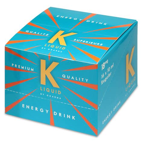 energy drink 16 k liquid energy drink 16 x 10ml bottle k by ekarma