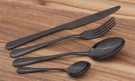 kitchen knives set black friday 2018 deals sales ads kitchen dining deal matt black cutlery sets 66 off