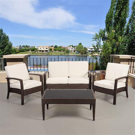 Resin Wicker Outdoor Furniture Kmart Com Kmart Wicker Patio Furniture