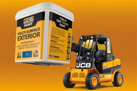 jcb painting jcb brand now stretches to paint