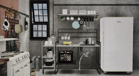 Sims Kitchen Ideas sunnersta kitchen by marcussims91 conversion teh sims
