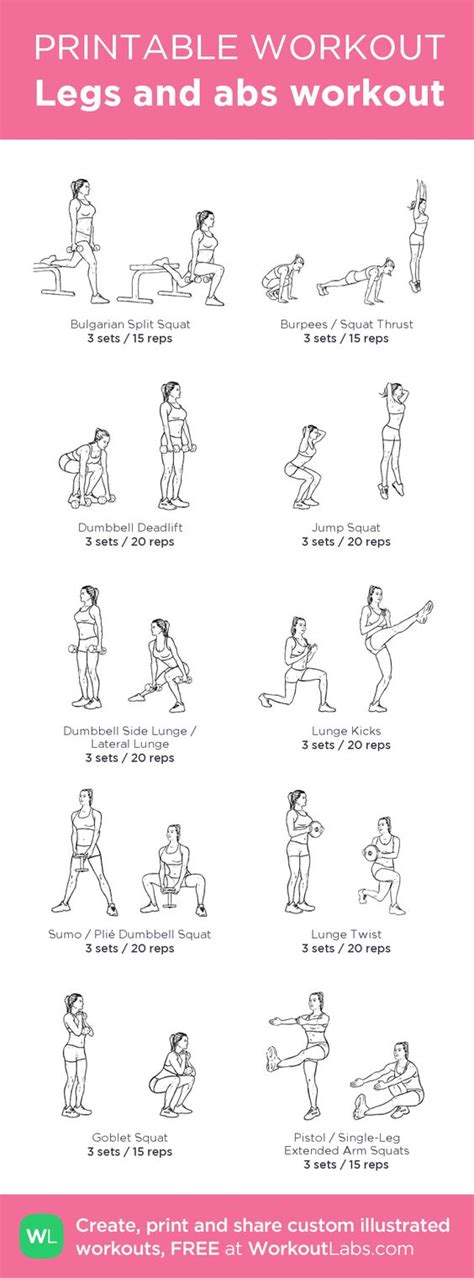 legs and abs workout my custom workout created at workoutlabs click through to