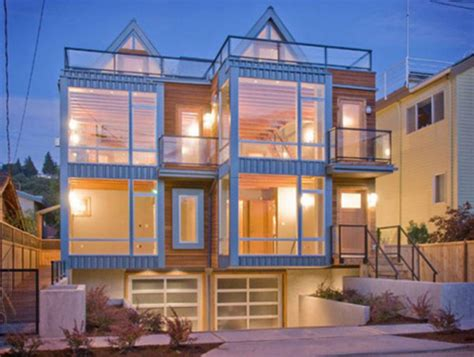 modern townhouse plans simple modern town houses design ideas half block from the
