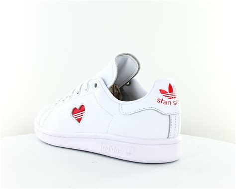 adidas stan smith coeur blanc
