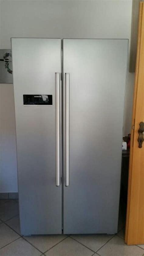 side by side kühlschrank siemens siemens side by side k 252 hlschrank in wagh 228 usel k 252 hl und