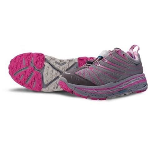 rei womens trail running shoes hoka one one stinson evo trail running shoes s