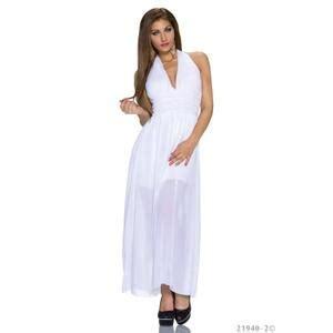 Robe Blanche Ceremonie Femme - robe ceremonie femme blanche