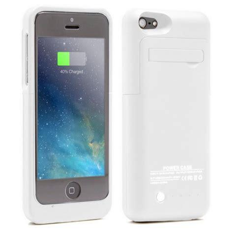 funda bateria para iphone 5c funda bater 237 a blanca para iphone 5 5s 5c se pccomponentes