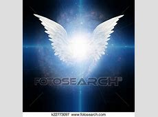 Stock Illustration of Angel winged k22773097 - Search EPS ... Fotosearch Free Images